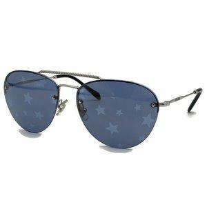 MIU MIU 59mm Aviator Star Printed Sunglasses